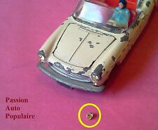 DINKY TOYS 528 : PEUGEOT 404 CABRIOLET un phare jaune 3,5mm /  headligiht yellow