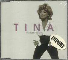 TINA TURNER Whatever You Need w/ Best & River High LIVE & VIDEO CD Single SEALED