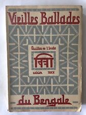 VIEILLES BALLADES DU BENGALE 1939 FEUILLE DE L'INDE N°6