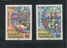 UNITED NATIONS, GENEVA # 173-174 MNH WORLD BANK