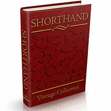 65 Rare Shorthand Books on DVD - Vintage Stenography Phonography Tachygraphy