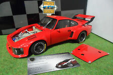 PORSCHE 935 Turbo Street Rouge Red au 1/18 EXOTO RLG 18102 voiture miniature
