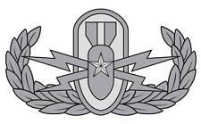 Senior Explosive Ordnance Disposal (EOD) Badge Decal
