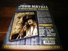 JOHN MAYALL - Plan média / Press kit !!! THE GODFATHER OF BRITISH BLUES !!!