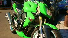 Kawa grün / lime green 0,5 Liter, Kawasaki SET Lack + Füller Motorrad Lack SET