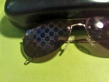 "Super ""Rare"" Gucci GG Monogrammed Mirrored Lens. Men's Sunglass"