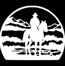 LONESOME RIDER BLACK HORSE car sticker vinyl decal motor window van car