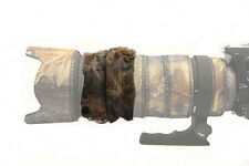 ZOOM COVER : MESH  Fits all large telephoto lenses Canon Nikon Sigma : Oak camo
