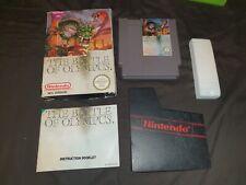 THE BATTLE OF OLYMPUS Nintendo NES Game