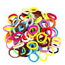 200PCS Hair Ties Elastic Rubber Band Rope for Baby Girls Fashion Ponytail Holder