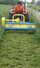 Zanon 1.5m  Flail, Mower Grass Cutter.1.3 1.7 1.5 In stock For Compact Tractors