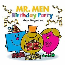 NEW  MR MEN  -  BIRTHDAY PARTY  (BUY 5 GET 1 FREE book ) Little Miss