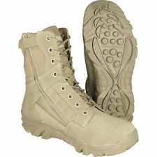 Tactical Side Zip Desert Recon Patrol Boots 13 Airsoft Military Leisure Outdoors