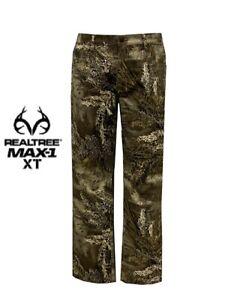 Hunting Pants Men's 5-Pocket Flex Fabric Realtree® Camo MAX-1 XT Various Size