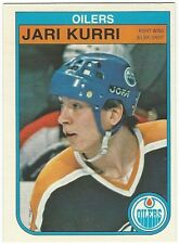 1982-83 OPC HOCKEY #111 JARI KURRI 2ND YEAR - NEAR MINT-