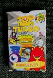 TOP TRUMPS   TURBO  MOSHI MONSTERS   MOSHI  STUFF