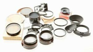 Nikon Various Filters Gel Filter Holders and Eye Cup  (20 PIECES)