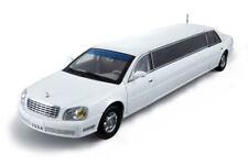 Cadillac Deville Limousine 2002 White 1:18 Model 4232 SUN STAR