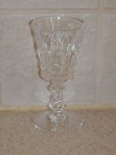 """VAL ST LAMBERT CRYSTAL ESNEUX CORDIAL 3 7/8"""" EXCELLENT!"""
