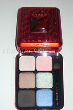 MAC DEVOTED POPPY 6 EYE SHADOW PALETTE BRUSH#213 SWEET YOUNG THING IN AWE AWAKEN