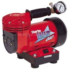 Clarke 'Wiz' Mini Air Compressor.Ideal for Air Brush Work, Very light and Quiet