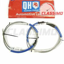 Rear Handbrake Cable Pair for FIAT GRANDE PUNTO 199 - 1.3 & 1.4 models - 2005-10