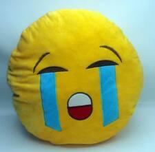Coussin peluche Smiley doux oreiller Emoji émoticônes 30 cm quasi Neuf