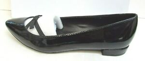 Steve Madden Size 6.5 Black Patent Flats New Womens Shoes
