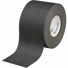 """New listing 3Mâ""""¢ Safety-Walkâ""""¢ Slip-Resistant Tapes & Treads 610, Black, 4 in x 60 ft"""