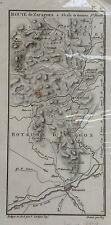 MAPA DE CAMINOS, LABORDE,1808
