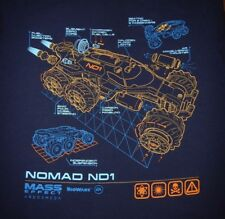 MASS EFFECT: ANDROMEDA - NOMAD ND1 - Women's size 2XL - Graphic T-Shirt