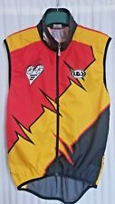 Louis Garneau Cycling Jersey VEST Colorado Heart Cycle Red Orange Black Men's L