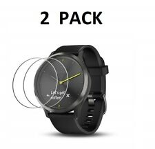 2 X Tempered Glass Screen Protector For Garmin Vivomove HR