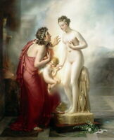 Art Giclee Print Pygmalion and Galatea Oil painting Printed on Canvas P1255