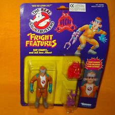 VINTAGE 1986 KENNER THE REAL GHOSTBUSTERS FRIGHT FEATURES RAY STANZ MOC CARDED 1