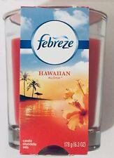 Febreze Hawaiian Aloha Scent Candle.