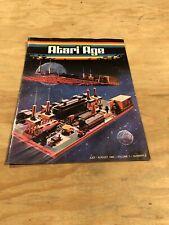 Atari Age Magazine Volume 1 ~ number 2 ~ July / August 1982 - Atari Club (C7)