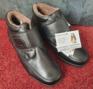 Hush Puppies Stiefelette 39 Kunstleder Schwarz Damen Ankle Boots Black Warm NEU