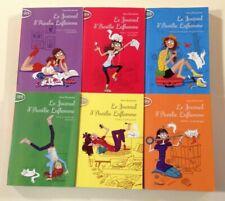 LE JOURNAL D'AURELIE LAFLAMME tomes 1 à 6 India Desjardins livre roman jeunesse