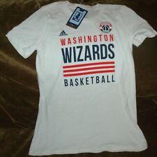 Washington Wizards t-shirt YOUTH girl's medium NEW with tags Adidas vintage NBA