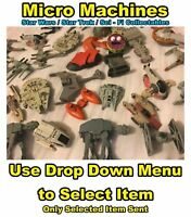Micro Machines: Star Trek, Star Wars, Babylon 5, Helicopters, Jets, Cars +More