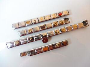Beaux Bracelet __ Set Nominatiom - Éléments ____