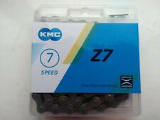 KMC  18-21 speed quality bike cycle chain 3 /32 with split link 5 6 7  speed