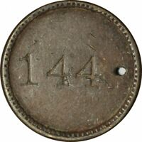 MAVERICK 144 GOOD FOR 5 CENTS IN TRADE TOKEN!   a632UQT