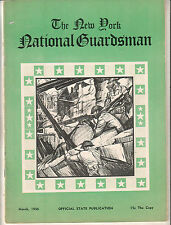 Mar 1936 New York State National Guardsman magazine/Chesterfield Ad back cover
