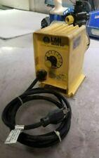 LMI MILTON ROY P050-192S CHEMICAL METERING PUMP 120 VAC 1.4 AMP 24 GPD 110 PSI