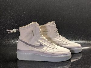 Nike AF1 Shell Cream Sail Desert Sand Grey Air Force 1 Women's Size 8.5 New