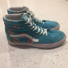 Men's Vans x Odd Future Sk8-Hi Donut Blue Size 11 VANS Skate Shoes