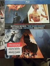Christopher Nolan Collection Blu-ray Disc 6 Disc Set Dark Knight Batman Begins