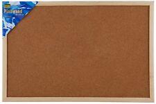 Idena Kork Pinnwand 40x60 mit Holzrahmen und 5 Pins Korktafel Pinwand